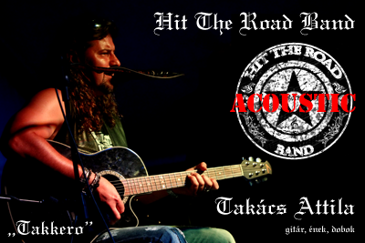 Takács Attila (Taki) - Hit The Road Acoustic Band